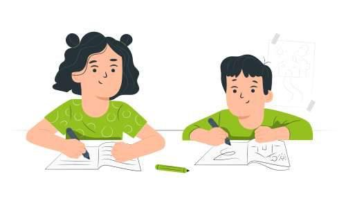 Kinder-lernen-zu-Hause